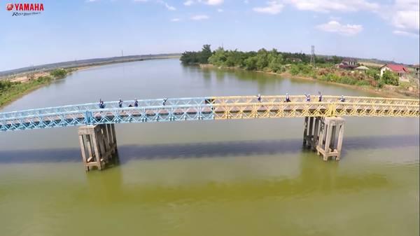 Cầu Hiền Lương bắc qua sông Bến Hải. Ảnh: Tuấn Trung Tá