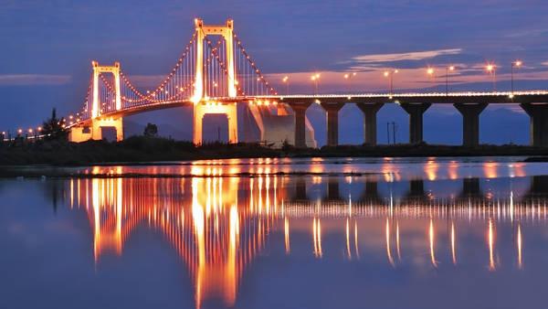 Cầu Thuận Phước bắc qua sông Hàn. Ảnh: gienkhan