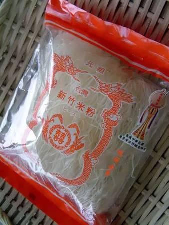 Mì gạo Hsinchu: Đây là món ăn nổi tiếng của thành phố Hsinchu. Du khách có thể thưởng thức tại chỗ hoặc mua về để tự nấu.
