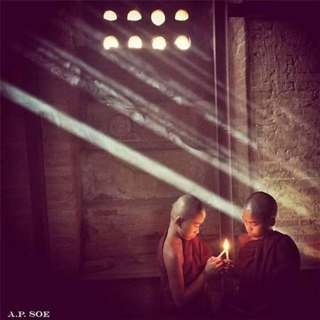 Bức ảnh đoạt giải thưởng chụp bằng iPhone đăng trên Instagram - Bagan.