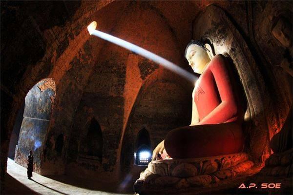 Trái tim Chakra, Bagan, Myanmar.