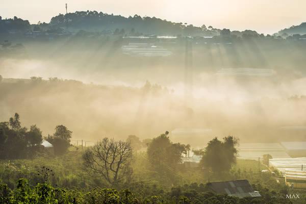 Săn mây ở Trại Mát, Đà Lạt. Ảnh: Max Ho