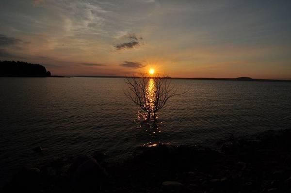Nắng tắt dần trên đảo Chim Ó. Ảnh: UtphanhQ6.