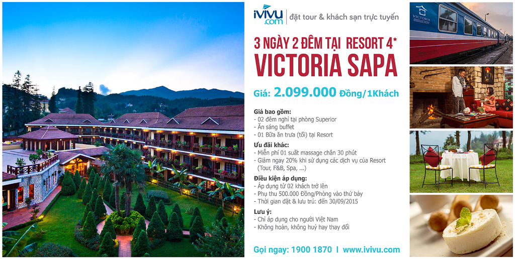 Mega Promotion - Vic Sapa - Meal