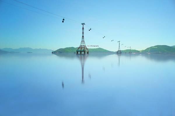 """TP Nha Trang (Khánh Hòa) được gọi là """"thiên đường biển"""" trở thành một trong những điểm đến thú vị nhất Việt Nam của du khách. Ảnh: Fat Yuan."""