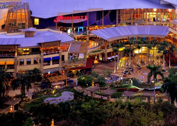 Khu Greenbelt tập trung rất nhiều công trình tôn giáo và khu mua sắm.Ảnh: callison.com