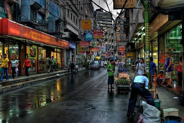 Một góc của khu phố Tàu Manila. Ảnh:nikonites.com