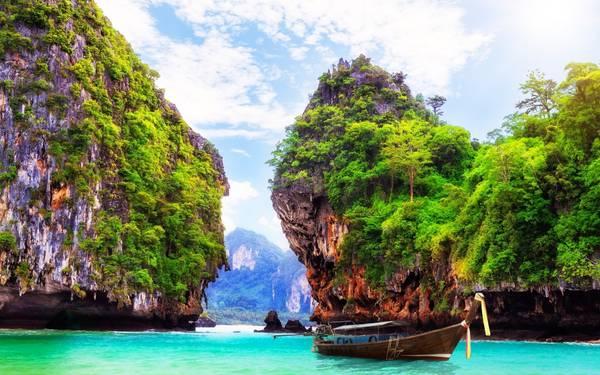 Thái Lan có cảnh quan thiên nhiên rất đa dạng. Ảnh: pinterest.com