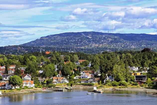 Oslo thu hút du khách nhờ cảnh quan thiên nhiên xinh đẹp. Ảnh: Huffingtonpost