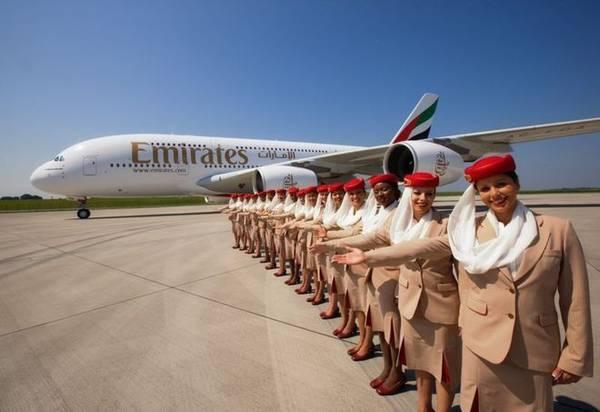 Emirates được bình chọn là hãng hàng không tốt nhất thế giới năm 2014