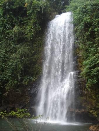 Pa Sỹ là một trong 7 thác nổi tiếng ở Măng Đen. Ảnh: Phương Thu Thủy.