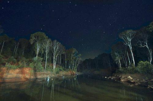 Tận hưởng một đêm đầy sao ở giữa núi rừng cao nguyên còn gì thú vị hơn. Ảnh: Luna's.