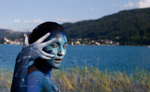 Image: The World Bodypainting Festival in Poertschach