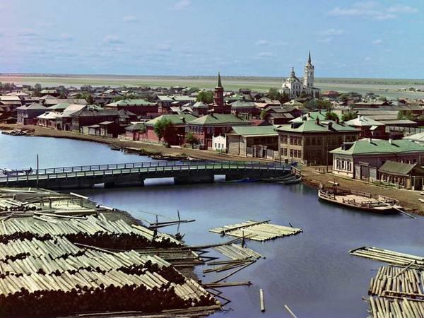 Thị trấn Tobolsk từng là trung tâm hành chính - quân sự của Nga ở Siberia.