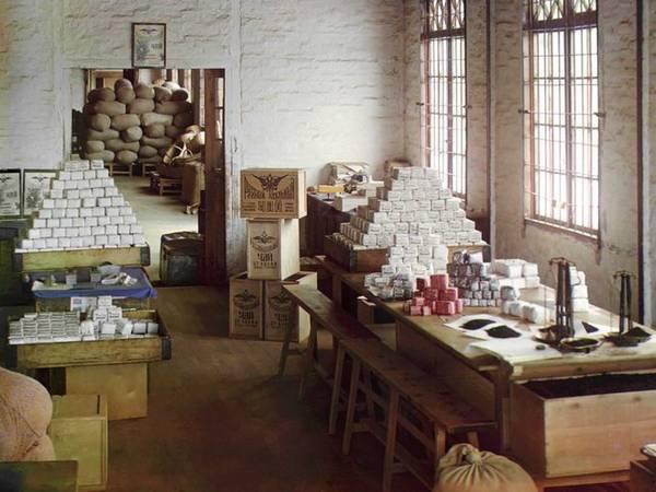 Nhà máy trồng và chế biến chè Chakva, gần bờ Biển Đen là một trong những nơi cung cấp trà lớn nhất cho Đế chế Nga lúc bấy giờ.