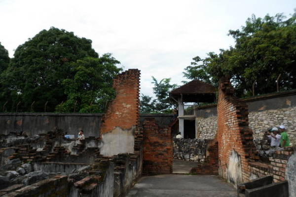 Một góc nhà tù Sơn La - Ành: V.N.A.