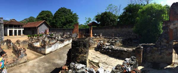 Nhà tù Sơn La ngày nay là một địa điểm du lịch được nhiều người tìm đến - Ảnh: Băng Giang