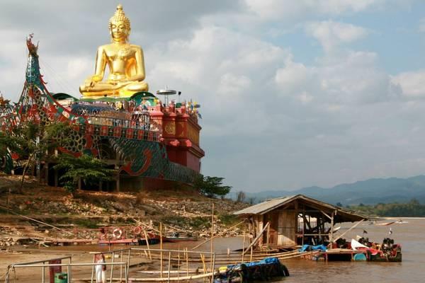 Hiện nay khu vực Tam giác vàng là địa điểm du lịch thu hút du khách ở Chiang Mai. Ảnh: free-stock-illustration.com