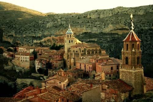 Albarracin được ví như là một hình ảnh của Tây Ban Nha thời Trung Cổ