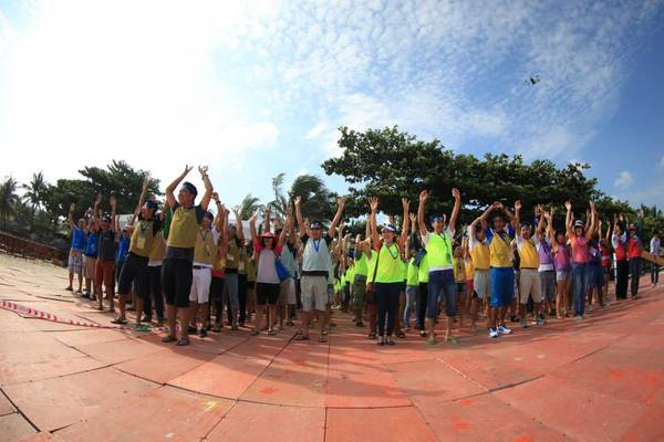 Những gương mặt xuất sắc của TMG tham dự chương trình kỷ niệm 20 thành lập Tập đoàn tại Phan Thiết.