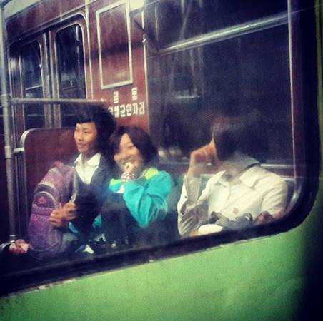 Tàu điện ngầm ở Bình Nhưỡng.