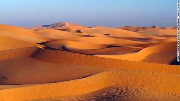 Sa mạc Wahiba là nơi thích hợp nhìn ngắm vì tinh tú trên bầu trời - Ảnh: CNN