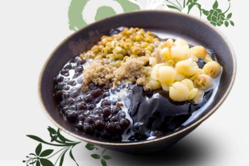 Herbal Jelly là món ăn thanh mát cho ngày hè nóng nực. Ảnh: Meet Fresh Vietnam.