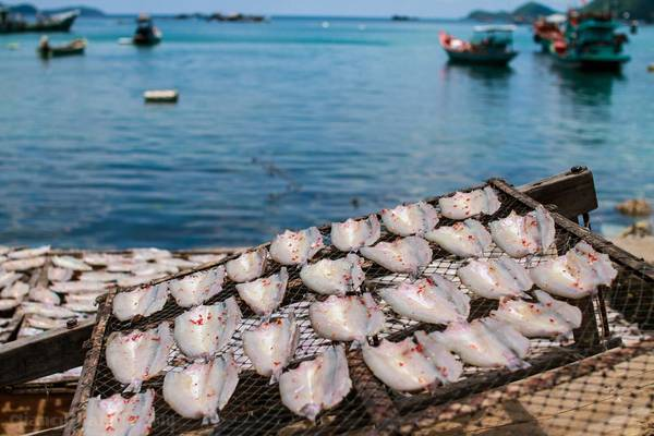 Du lịch Nam Du bạn sẽ thỏa thích thưởng thức các món hải sản với giá rất rẻ. Ảnh: Giang Pham/flickr.com
