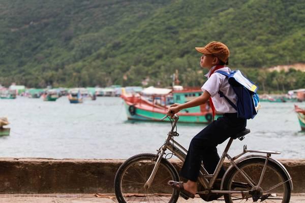 Khung cảnh bình yên trên đảo. Ảnh: Giang Pham/flickr.com
