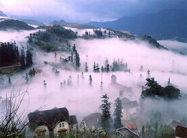 Vẻ đẹp huyền ảo của phong cảnh núi rừng Sapa
