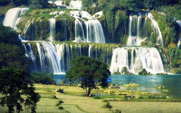 Thác Bản Giốc – ngọn thác đẹp nhất, hùng vĩ nhất Đông Nam Á.
