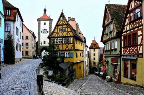 Ngôi làng mang lại cảm hứng sáng tác cho Walt Disney. Ảnh: Bayern.by.