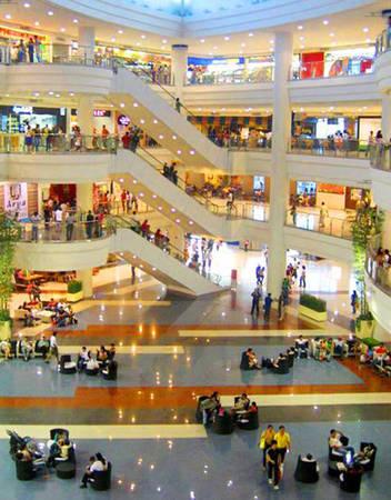 Trung tâm Greenhills tại Makati, Manila.