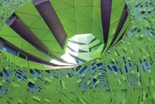 Toàn cảnh nhà Cube Vert