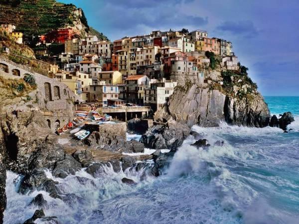 Một góc làng Riomaggiore - Ảnh: wordoress