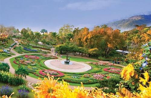 Vườn Mae Fah Luang tại Doi Tung