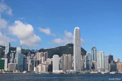 Hong Kong có nhiều tòa nhà chọc trời nhất thế giới. Ảnh: Hanh Phan.