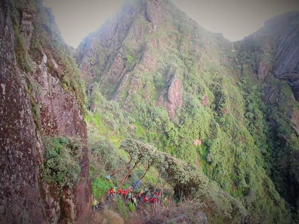 Description: Nhưng thực tế thì đường đi còn rất dài và nhiều chông gai. Những con dốc cheo leo và ngoằn nghèo sát bên sườn núi đôi lúc khiến không biết bao người rùng mình.