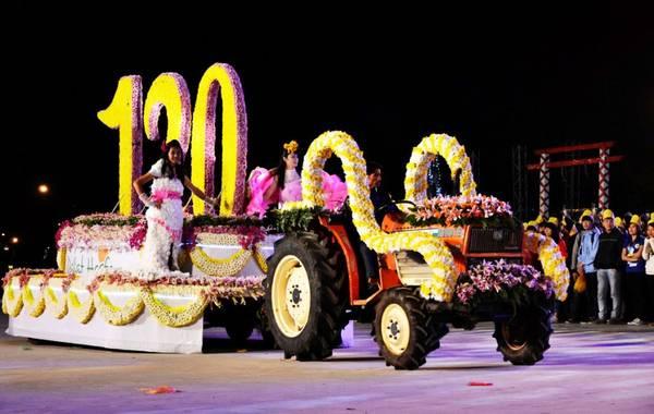 Trình diễn Carnaval Hoa Đà Lạt. Ảnh: Baodongnai