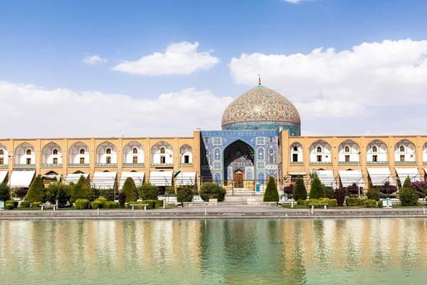 Quảng trường hồi giáo lớn nhất Tây Á ở thành phố di sản Isfahan.