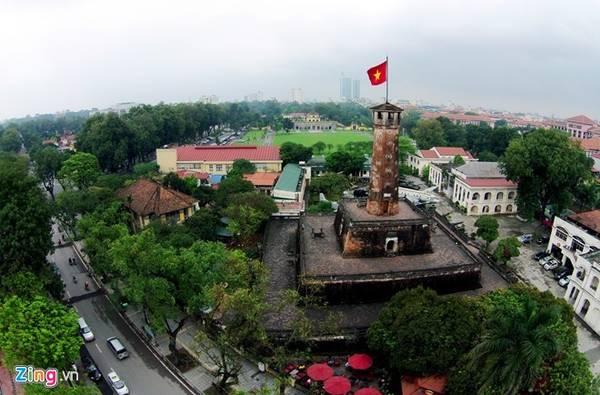 Hoàng thành Thăng Long là quần thể di tích gắn với lịch sử kinh thành Thăng Long - Hà Nội. Hiện Hoàng thành là một trong những điểm nhất định phải ghé của du khách khi đến Hà Nội. Ảnh: Mạnh Thắng.