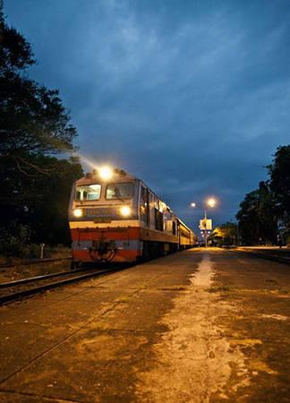 Đi tàu hỏa tới ga Tuy Hòa. Ảnh: catflickr.