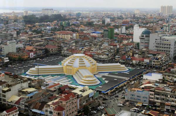 Toàn cảnh chợ Trung tâm nhìn từ trên cao. Ảnh: huffingtonpost.com