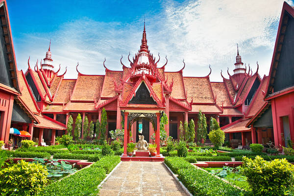 Bảo tàng Quốc gia Campuchia. Ảnh: touropia.com