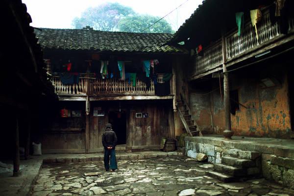 Nhà của Pao ở Sủng Là. Ảnh: VannK/flickr.com