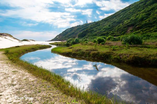 Đường di chuyển ra bãi Môn. Ảnh: n_dangthuy/flickr.com