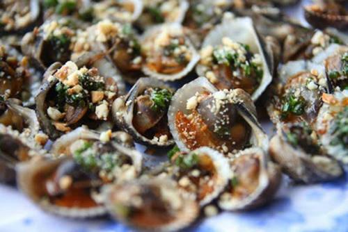 Món sò huyết đầm Ô Loan hấp dẫn. Ảnh: Vnexpress.net