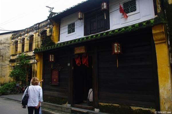 Nhà cổ Tấn Ký. Ảnh: Trần Việt Anh