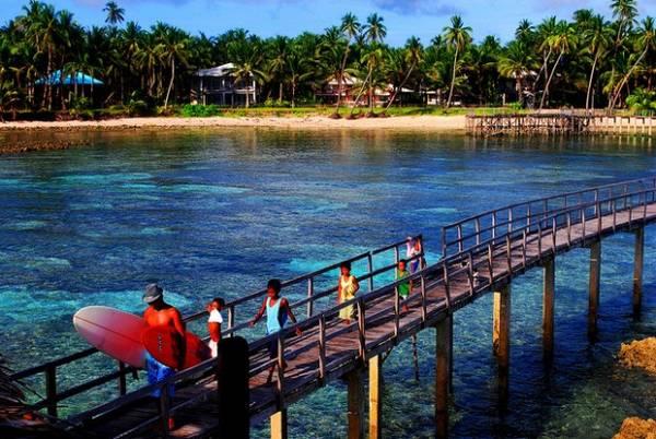 Nếu bạn là người ưa thích sự mạo hiểm và thử thách, hòn đảo Siargao sẽ là lựa chọn hoàn hảo. Ảnh: Jojoscope