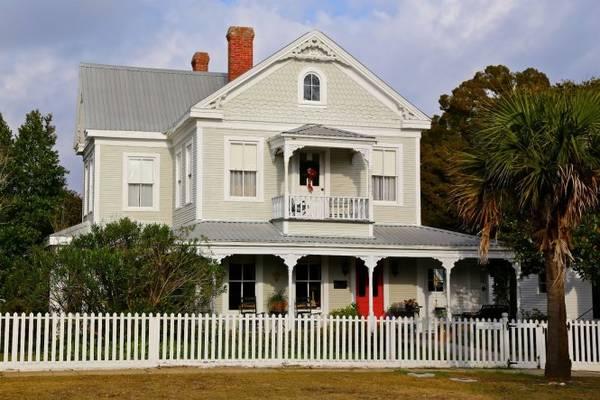 Một căn nhà từ thời Victoria ở thị trấn Apalachicola - Ảnh: sweetsoutherndays